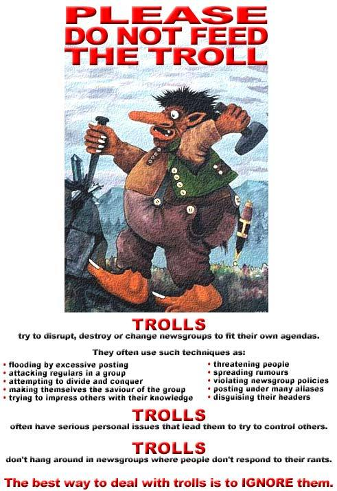 Do not feed the troll - 02