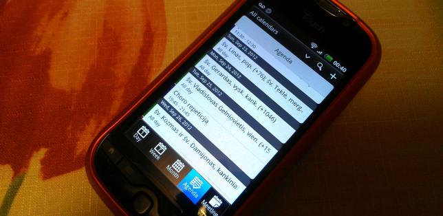 Katalikų liturginis kalendorius išmaniesiems telefonams ir ne tik!
